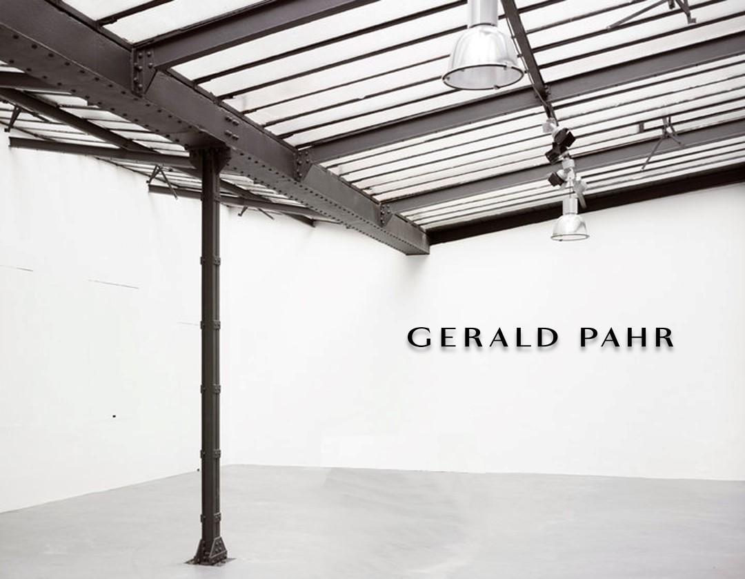 Gerald Pahr Showroom Atelier Vienna Esterhazygasse 3
